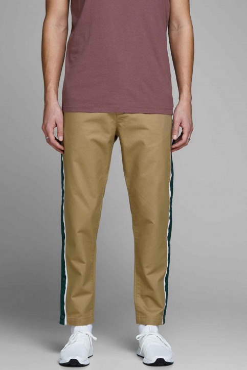 JACK & JONES JEANS INTELLIGENCE Chinos rouge 12150122_KELP img1