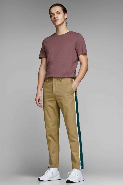 JACK & JONES JEANS INTELLIGENCE Chinos rouge 12150122_KELP img2