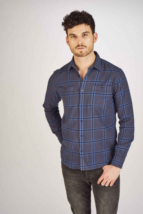 PREMIUM BLUE by JACK & JONES Chemises (manches longues) bleu 12150436_MOOD INDIGO img1