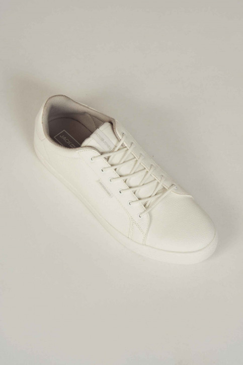 ACCESSORIES BY JACK & JONES Chaussures blanc 12150725_BRIGHT WHITE img6