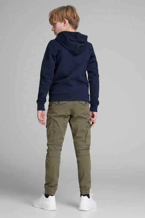 J & J Kids Pantalons colorés OLIVE 12151639_OLIVE NIGHT img2