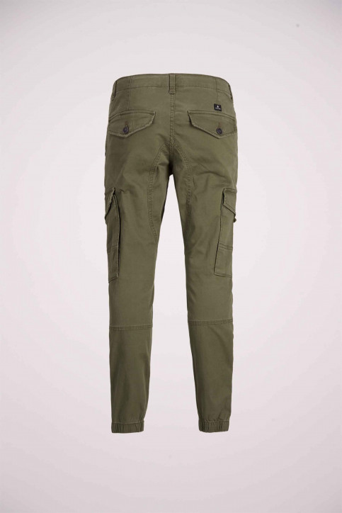 J & J Kids Pantalons colorés OLIVE 12151639_OLIVE NIGHT img8