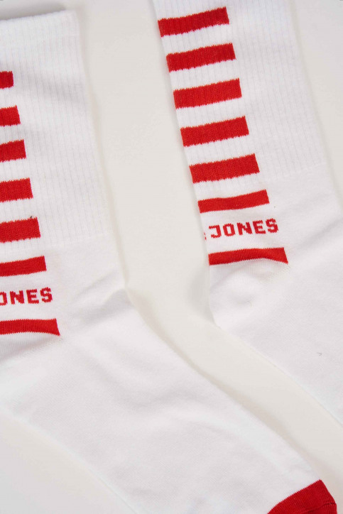 ACCESSORIES BY JACK & JONES Chaussettes rouge 12152183_FIERY RED img2