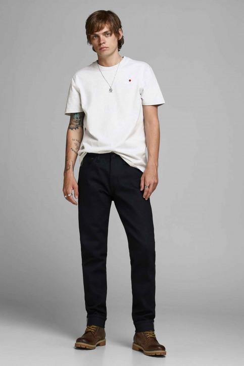 PREMIUM BLUE BY JACK & JONES T-shirts (korte mouwen) wit 12154311_WHITE MELANGE M img2