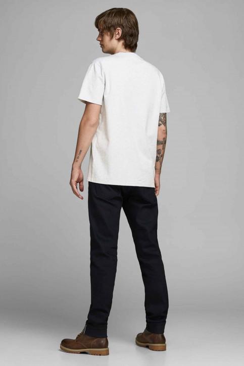 PREMIUM BLUE BY JACK & JONES T-shirts (korte mouwen) wit 12154311_WHITE MELANGE M img3