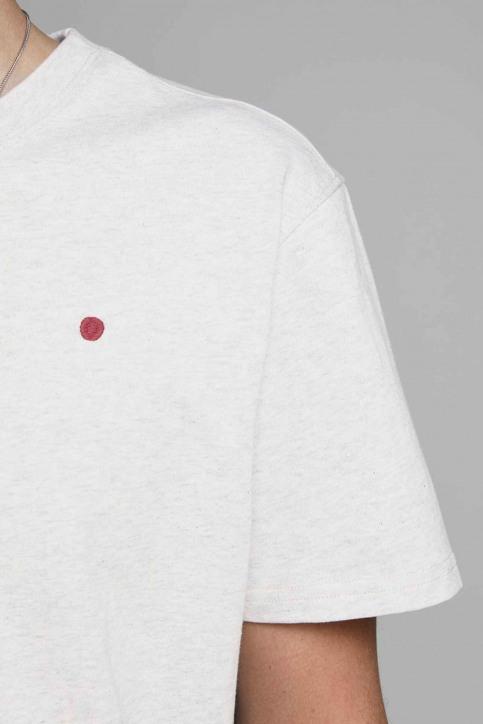 PREMIUM BLUE BY JACK & JONES T-shirts (korte mouwen) wit 12154311_WHITE MELANGE M img4