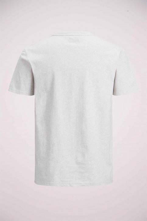 PREMIUM BLUE BY JACK & JONES T-shirts (korte mouwen) wit 12154311_WHITE MELANGE M img6