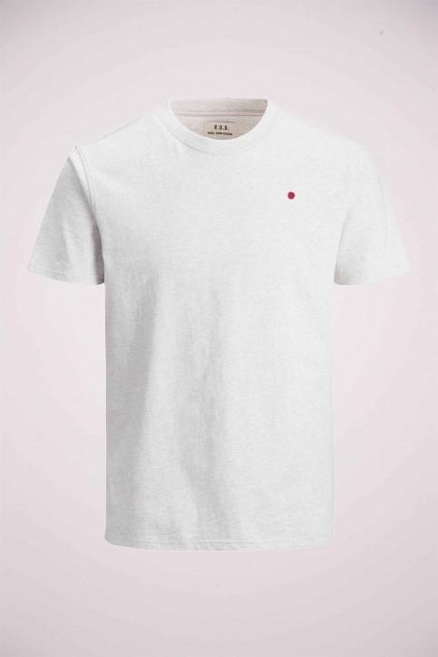 PREMIUM BLUE BY JACK & JONES T-shirts (korte mouwen) wit 12154311_WHITE MELANGE M img7