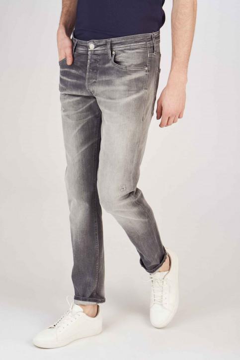 JACK & JONES JEANS INTELLIGENCE Jeans slim grijs 12154483_GREY DENIM img1