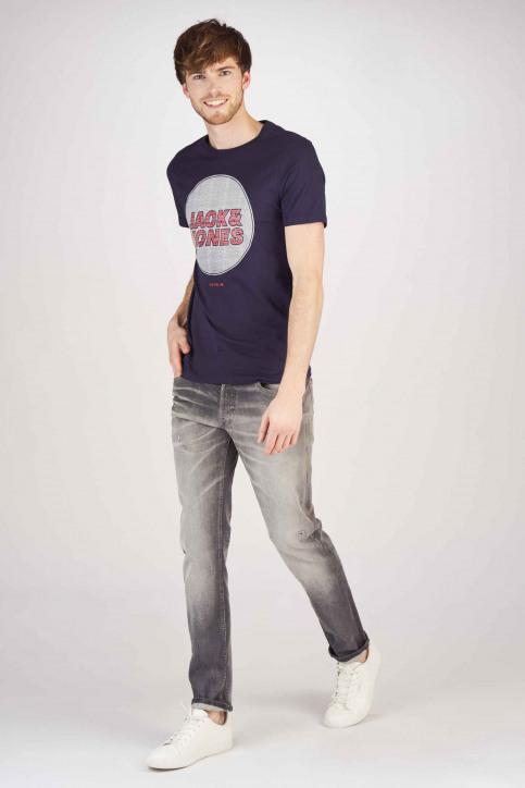 JACK & JONES JEANS INTELLIGENCE Jeans slim grijs 12154483_GREY DENIM img2