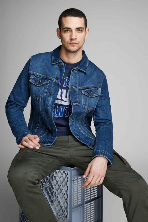 JACK & JONES JEANS INTELLIGENC Jassen (jeans) denim 12154576_BLUE DENIM img4