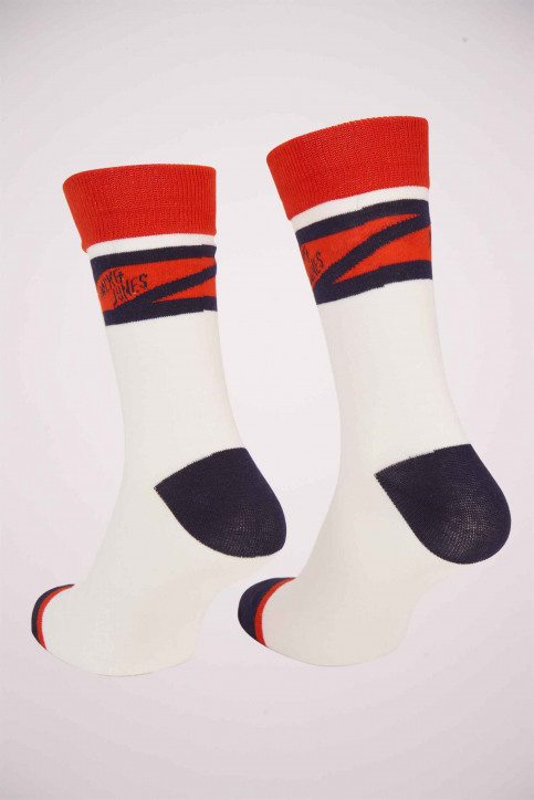 ACCESSORIES BY JACK & JONES Chaussettes 12155005_WHITE SOLID CHE img2
