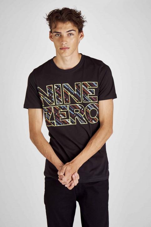 CORE BY JACK & JONES T-shirts (korte mouwen) zwart 12155105_BLACK SLIM img1