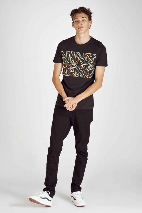 CORE BY JACK & JONES T-shirts (korte mouwen) zwart 12155105_BLACK SLIM img2