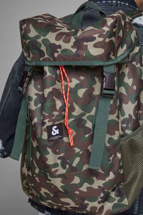 ACCESSORIES BY JACK & JONES Sacs à dos vert 12155322_OLIVE NIGHT img5