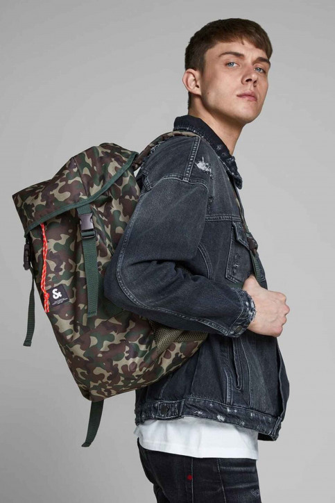 ACCESSORIES BY JACK & JONES Sacs à dos vert 12155322_OLIVE NIGHT img8