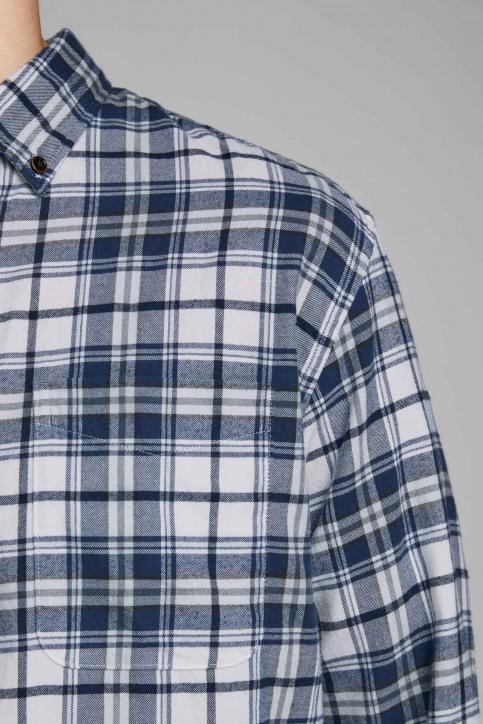 ORIGINALS BY JACK & JONES Chemises (manches longues) blanc 12155371_WHITE SLIM FIT img4