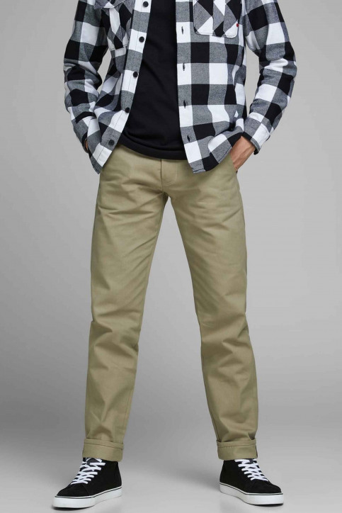 JACK & JONES JEANS INTELLIGENCE Colorbroeken rood 12155559_KELP img1