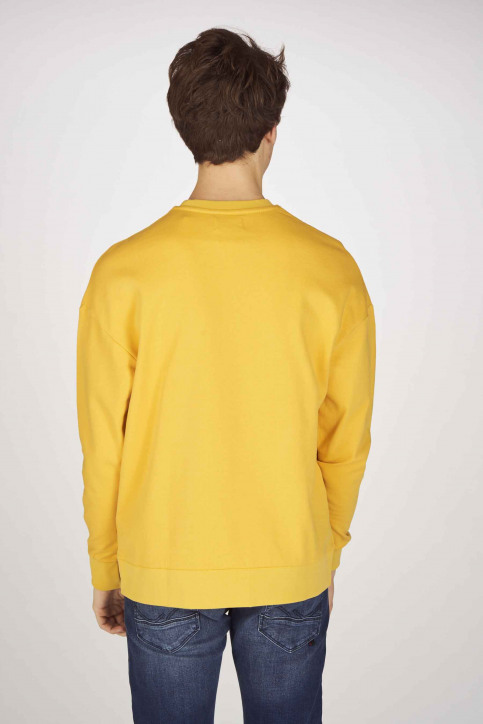 ORIGINALS BY JACK & JONES Sweaters met ronde hals geel 12155627_YOLK YELLOW SLI img3