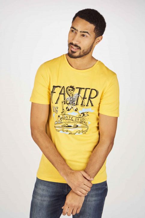 ORIGINALS BY JACK & JONES T-shirts (korte mouwen) geel 12155638_YOLK YELLOW SLI img1