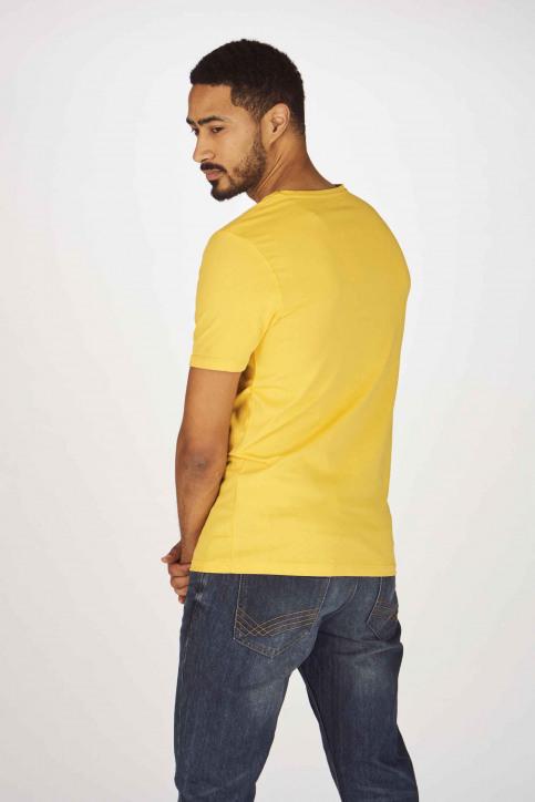 ORIGINALS BY JACK & JONES T-shirts (korte mouwen) geel 12155638_YOLK YELLOW SLI img3