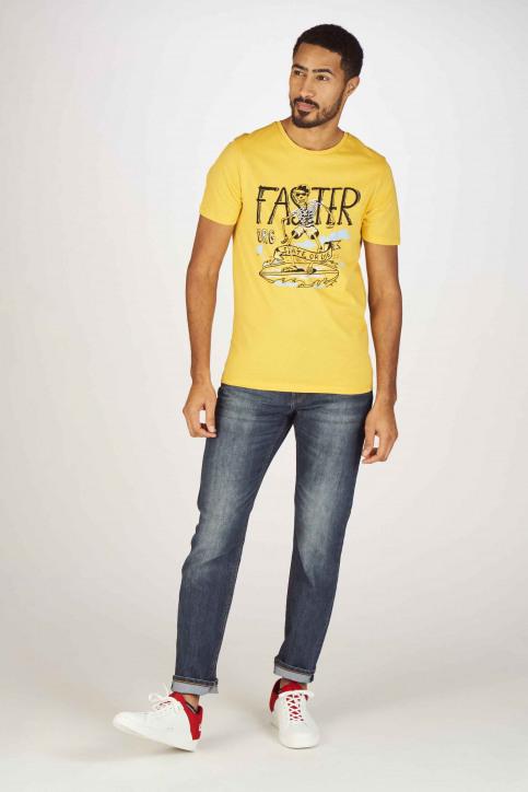 ORIGINALS BY JACK & JONES T-shirts (korte mouwen) geel 12155638_YOLK YELLOW SLI img5