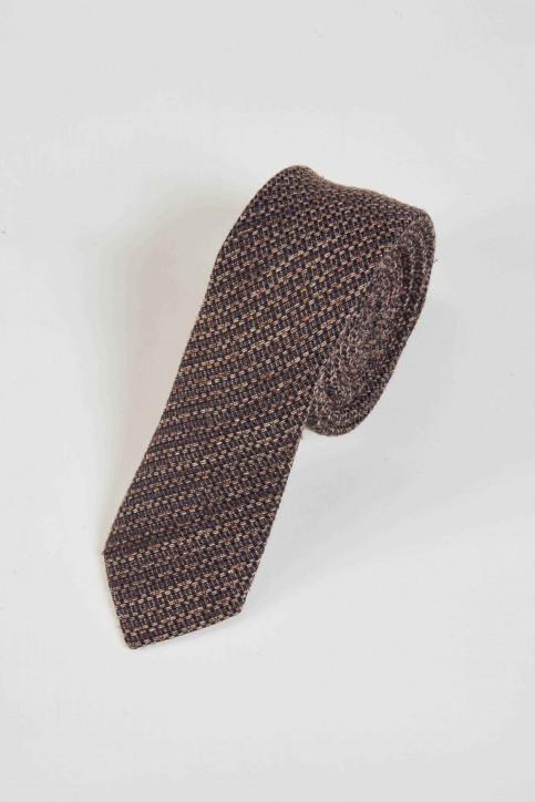 ACCESSORIES BY JACK & JONES Cravates gris 12155744_GREY DENIM img1