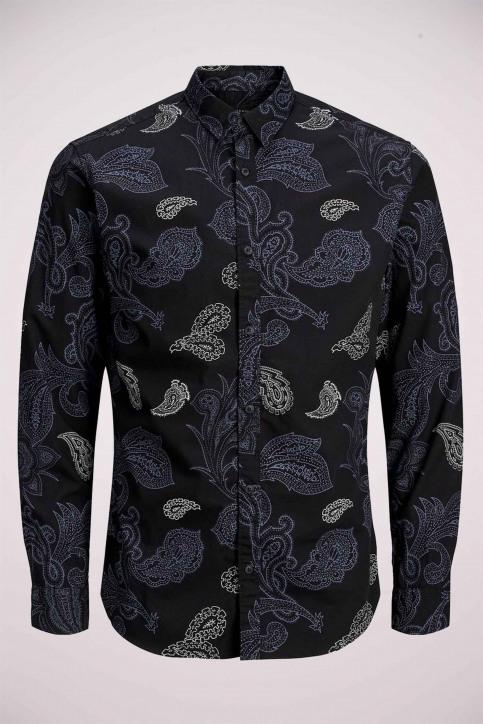 PREMIUM by JACK & JONES Hemden (lange mouwen) zwart 12156077_BLACK img5