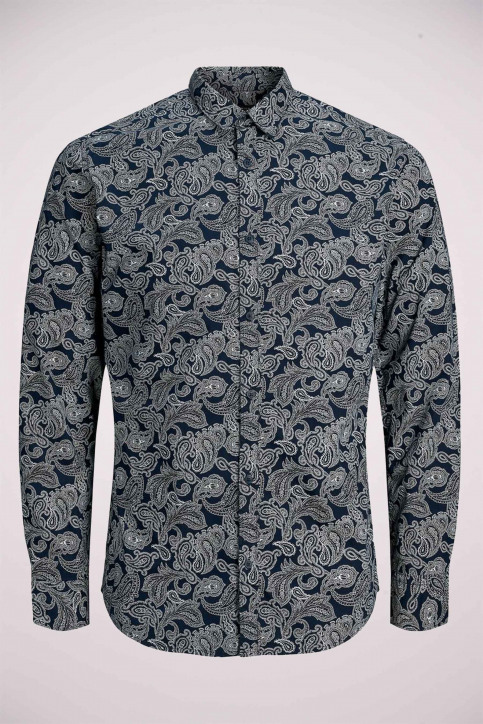 PREMIUM by JACK & JONES Hemden (lange mouwen) blauw 12156077_NAVY BLAZER img5