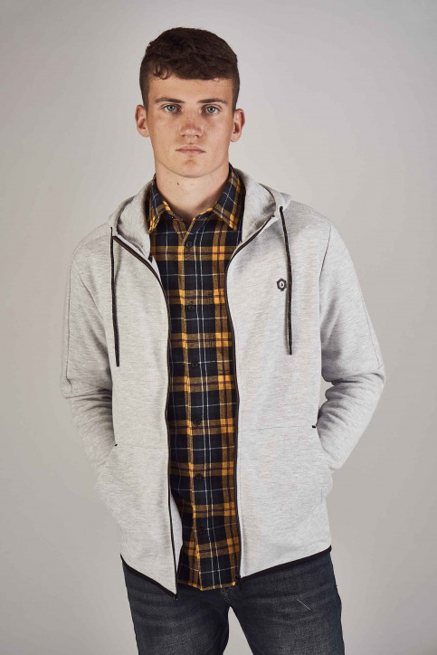 CORE BY JACK & JONES Sweaters (gilet) grijs 12156229_LIGHT GREY MELA img1