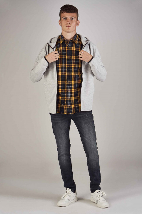 CORE BY JACK & JONES Sweaters (gilet) grijs 12156229_LIGHT GREY MELA img2