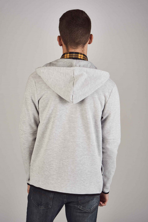 CORE BY JACK & JONES Sweaters (gilet) grijs 12156229_LIGHT GREY MELA img3