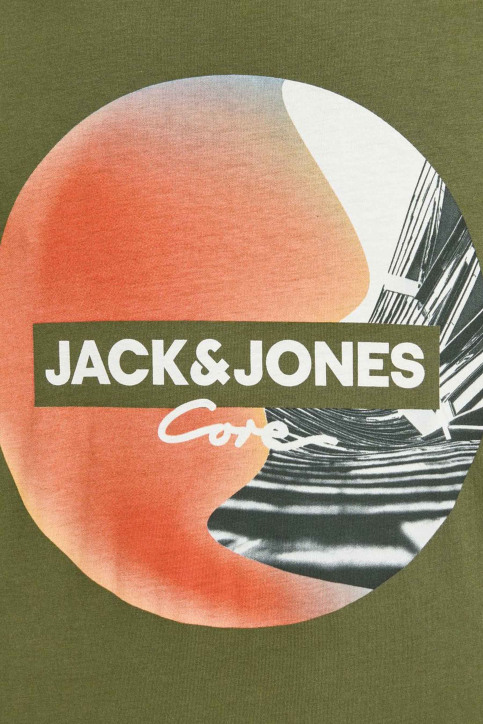 CORE BY JACK & JONES T-shirts (manches courtes) 12156273_WINTER MOSS SLI img5