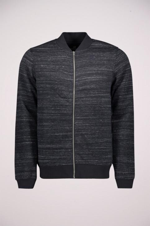 PREMIUM BLUE BY JACK & JONES Sweaters (gilet) zwart 12156941_BLACK SLIM FIT img1
