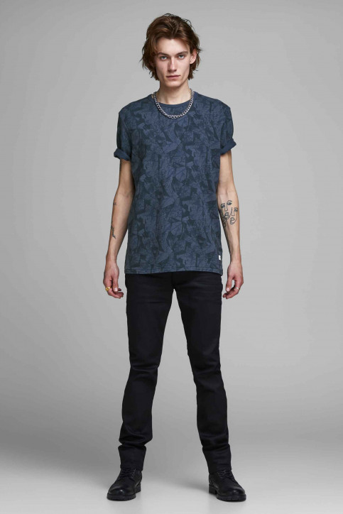 PREMIUM BLUE BY JACK & JONES T-shirts (korte mouwen) blauw 12157967_MOOD INDIGO img2