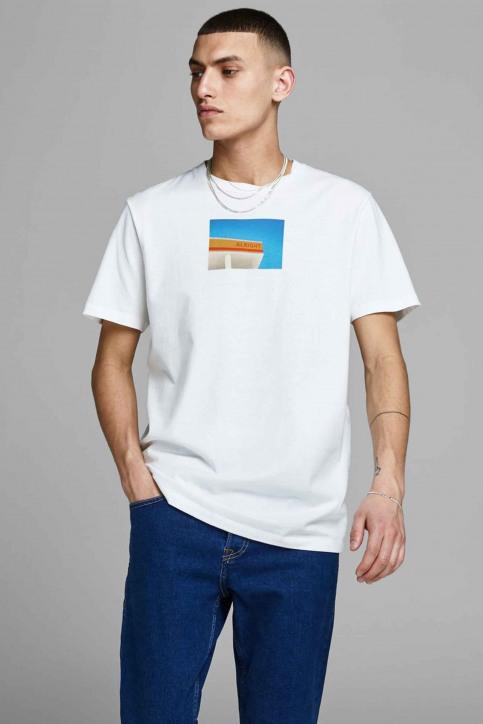ORIGINALS BY JACK & JONES T-shirts (manches courtes) blanc 12158075_CLOUD DANCER img1