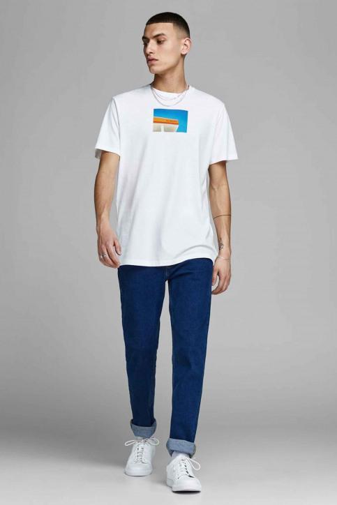 ORIGINALS BY JACK & JONES T-shirts (manches courtes) blanc 12158075_CLOUD DANCER img2