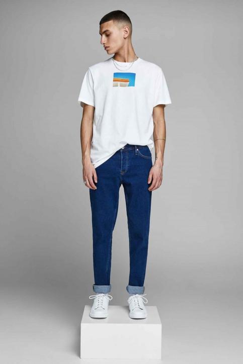 ORIGINALS BY JACK & JONES T-shirts (manches courtes) blanc 12158075_CLOUD DANCER img6