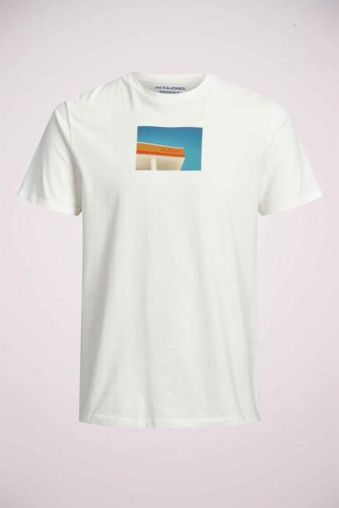 ORIGINALS BY JACK & JONES T-shirts (manches courtes) blanc 12158075_CLOUD DANCER img7