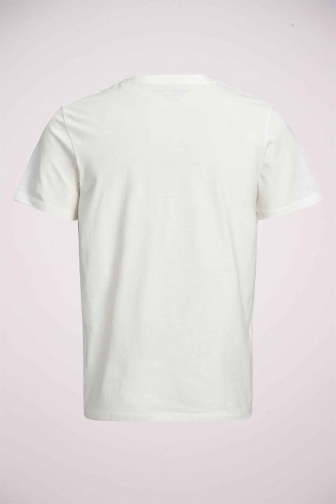 ORIGINALS BY JACK & JONES T-shirts (manches courtes) blanc 12158075_CLOUD DANCER img8
