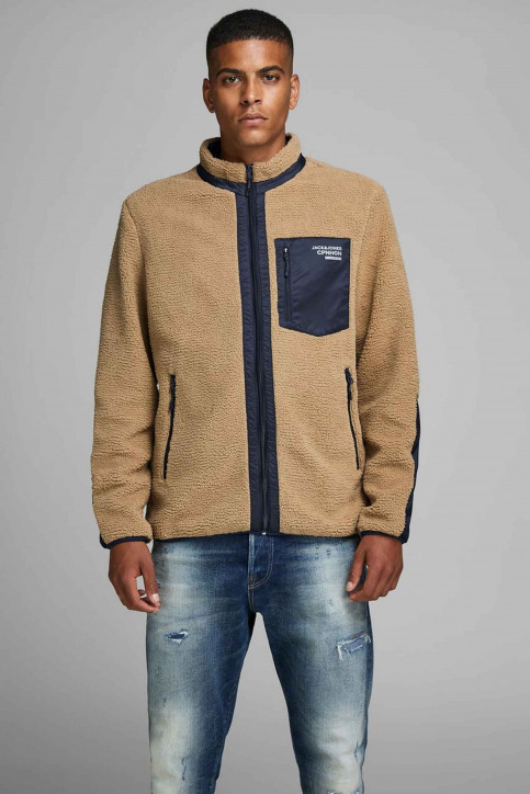 ORIGINALS BY JACK & JONES Vestes courtes jaune 12158347_TIGERS EYE img1