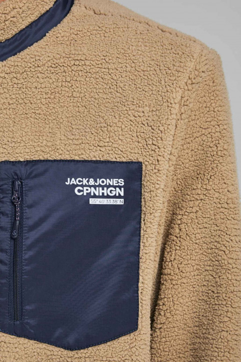 ORIGINALS BY JACK & JONES Vestes courtes jaune 12158347_TIGERS EYE img5