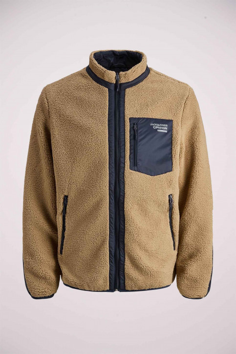 ORIGINALS BY JACK & JONES Vestes courtes jaune 12158347_TIGERS EYE img6