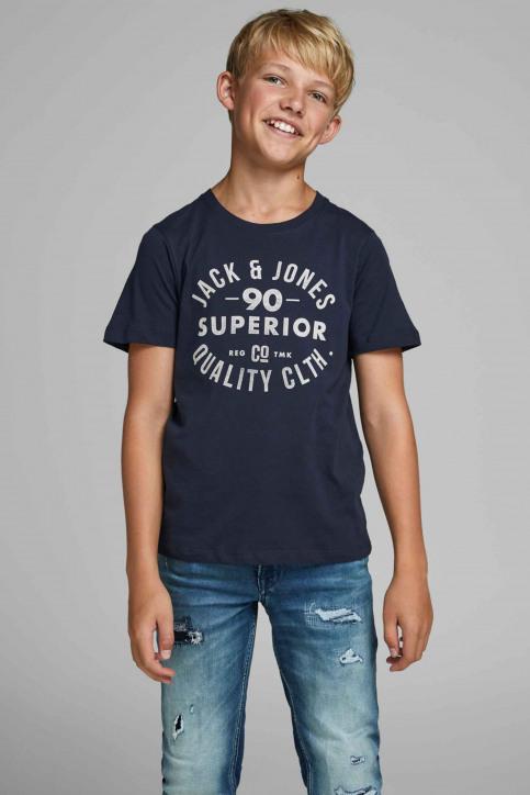 J & J Kids T-shirts manches courtes 12158416_175876 Navy Bla img1