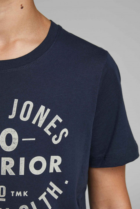 J & J Kids T-shirts manches courtes 12158416_175876 Navy Bla img4