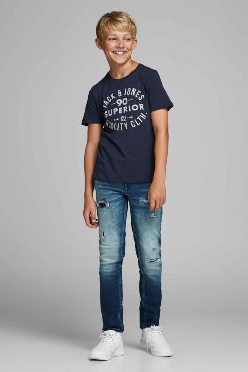 J & J Kids T-shirts manches courtes 12158416_175876 Navy Bla img5