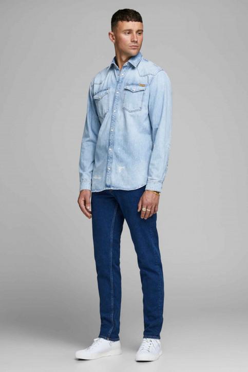 JACK & JONES JEANS INTELLIGENC Hemden (lange mouwen) denim 12158524_BLUE DENIM img2