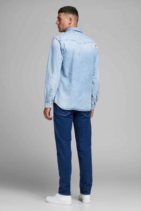 JACK & JONES JEANS INTELLIGENC Hemden (lange mouwen) denim 12158524_BLUE DENIM img3