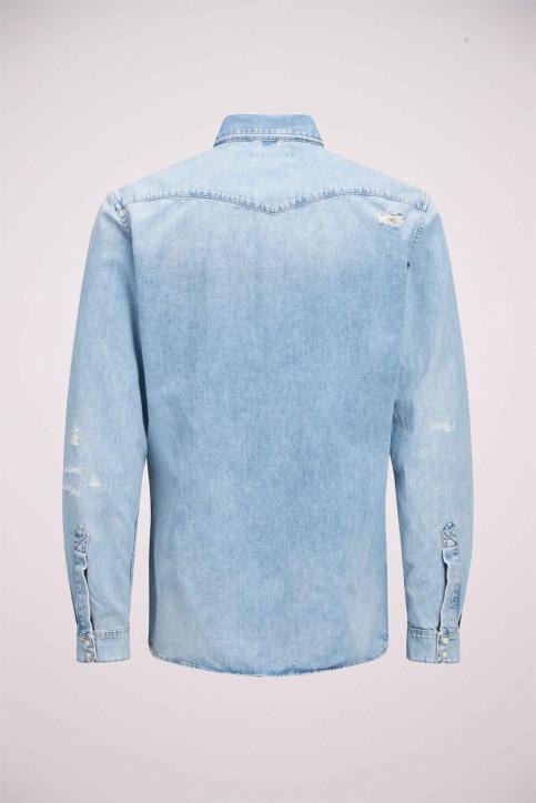 JACK & JONES JEANS INTELLIGENC Hemden (lange mouwen) denim 12158524_BLUE DENIM img8