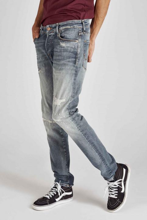 JACK & JONES JEANS INTELLIGENC Jeans slim denim 12158604_BLUE DENIM img5